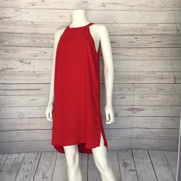 aef846851b9 Adrienne Vittadini Sleeveless Dress Sz L
